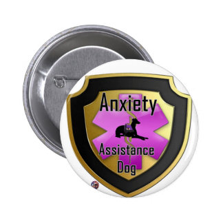 Service Dog Helpers Pink Jelly 2 Inch Round Button