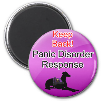 Service Dog Helpers Pink Jelly Magnets