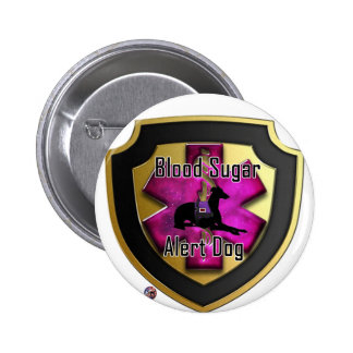 Service Dog Helpers Purple Space Button