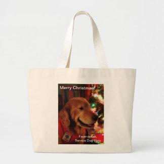 Service Dog Jonah & Christmas Tree Lights Bags