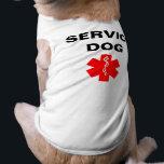 """Service Dog Red Medical Alert Symbol T-Shirt Tank<br><div class=""""desc"""">Service Dog Red Medical Alert Symbol T-Shirt Tank</div>"""