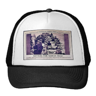 Service For Saipan Dead Trucker Hat