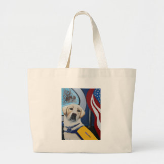 Service K-9 Yellow Lab Tote Bag