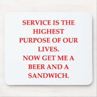 SERVICE MOUSEPAD
