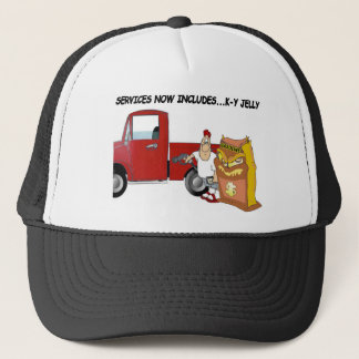 Service now includes K-Y Jelly Trucker Hat