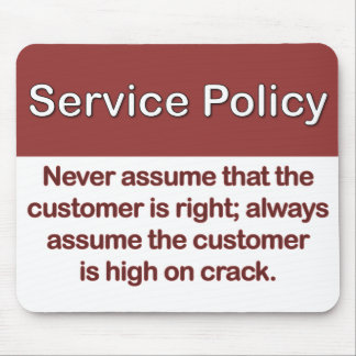 Service Policy Definition Mouse Pad