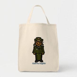 service sack. tote bag