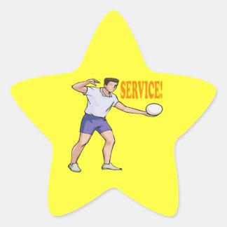 Service Star Sticker