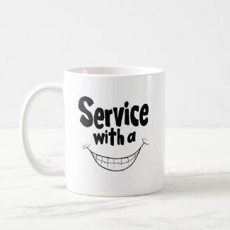 Service With a Smile Mug mug