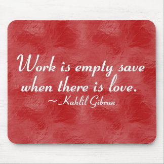 Service without love is empty (2) mouse pad