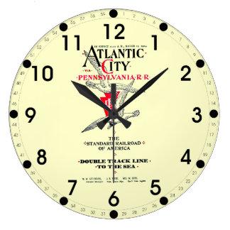 Servicio 1904 de Atlantic City del ferrocarril de  Reloj