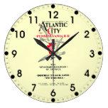 Servicio 1904 de Atlantic City del ferrocarril de  Reloj Redondo Grande