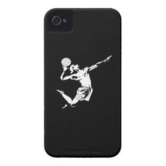 Servicio 2 del voleibol iPhone 4 Case-Mate carcasas