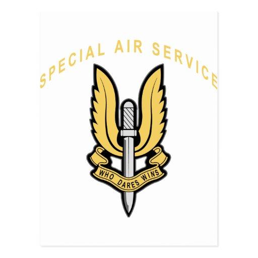 Servicio aéreo especial postal