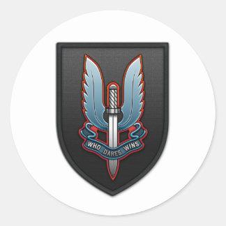 Servicio aéreo especial (SAS) Pegatina Redonda
