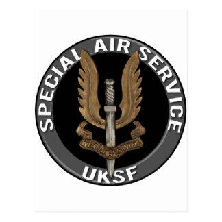 Servicio aéreo especial (SAS) Tarjeta Postal