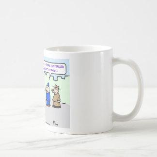 servicio comunitario del mime taza de café