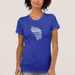 Servicio comunitario Dominica en colores múltiples Camisetas