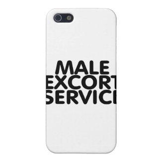 Servicio de acompañamiento masculino iPhone 5 fundas