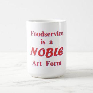 Servicio de alimentación taza