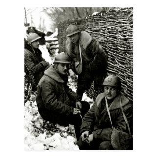 Servicio de campo americano de WWI Postal