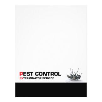 """Servicio de control de parásito folleto 8.5"""" x 11"""""""