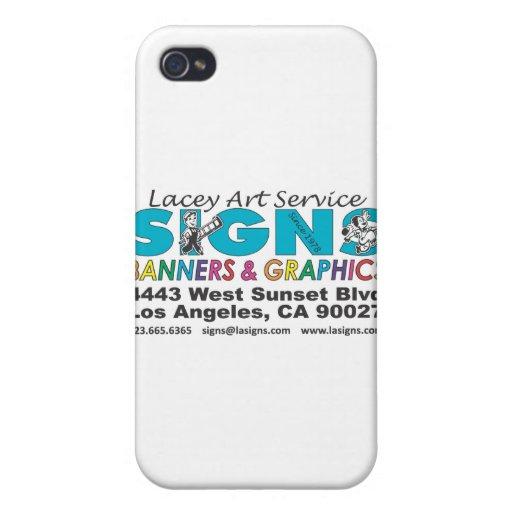 Servicio de encaje del arte iPhone 4 cárcasa