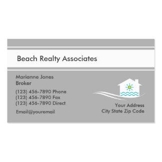 Servicio de las propiedades inmobiliarias de la tarjetas de visita