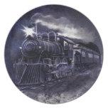 Servicio de mesa mágico del motor de vapor del tre plato de comida