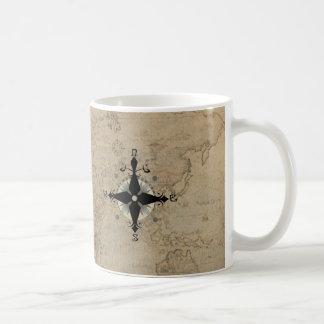 Servicio de mesa náutico taza de café