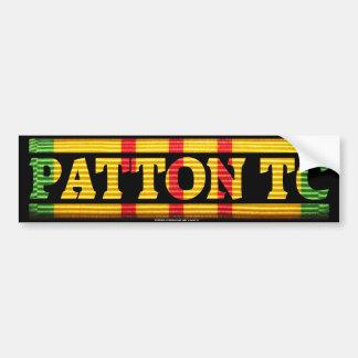 Servicio de Patton TC Vietnam Pegatina Para Auto