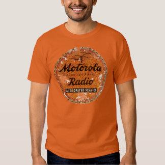 Servicio de radio de Motorola del vintage Remeras