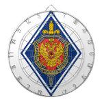 Servicio de seguridad federal Russland Abzeichen Tablero Dardos