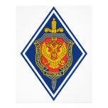 Servicio de seguridad federal Russland Abzeichen Plantilla De Membrete