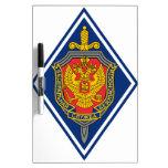 Servicio de seguridad federal Russland Abzeichen Pizarras