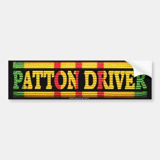 Servicio de Vietnam del conductor de Patton Pegatina Para Auto