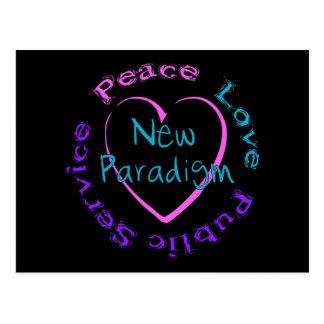 Servicio del amor de la paz postal