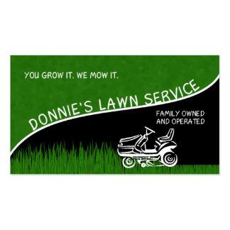 Servicio del césped de Donnie Tarjetas De Visita
