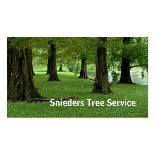 Servicio del condensador de ajuste del árbol tarjeta personal