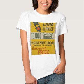 Servicio del encintado de la biblioteca pública de camisas