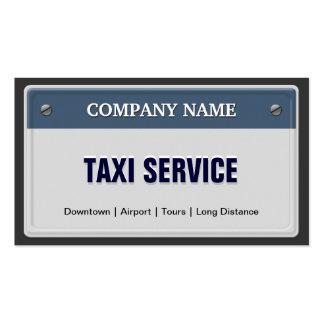 Servicio del Limo y del taxi - refresque la matríc Tarjetas De Visita