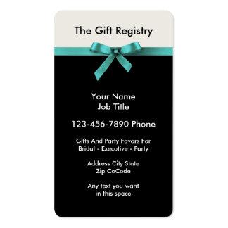 Servicio del regalo del boda y del ejecutivo tarjetas de visita