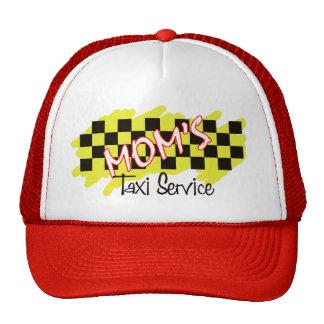 servicio del taxi de la mamá gorras