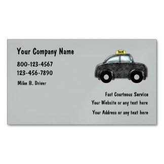 Servicio del taxi tarjetas de visita magnéticas (paquete de 25)