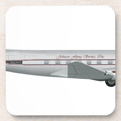 Servicio del vuelo de Douglas DC-3 Johnson Posavaso