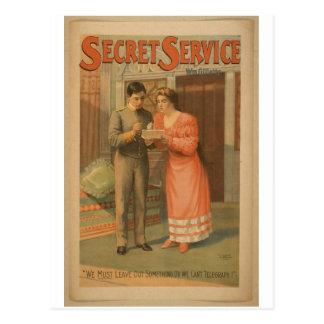 Servicio secreto postales