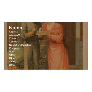 Servicio secreto tarjetas personales