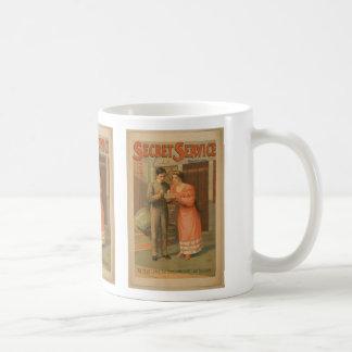 Servicio secreto taza de café