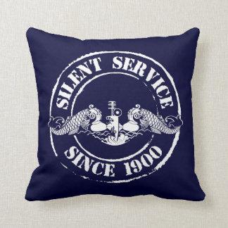 Servicio silencioso cojin