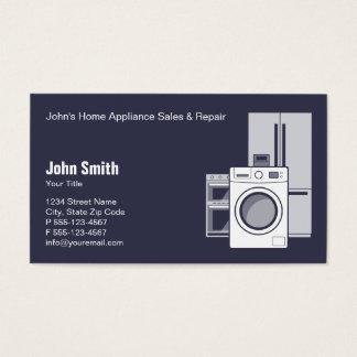 Servicio, venta y reparación del aparato tarjeta de negocios